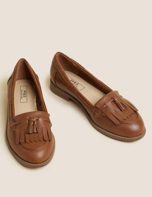 Patent Tassel Loafers
