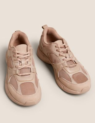 Lace Up Chunky Trainers