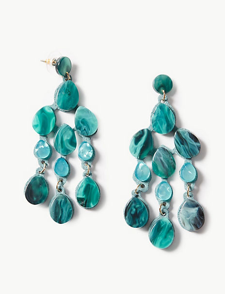 Rain Shower Drop Earrings