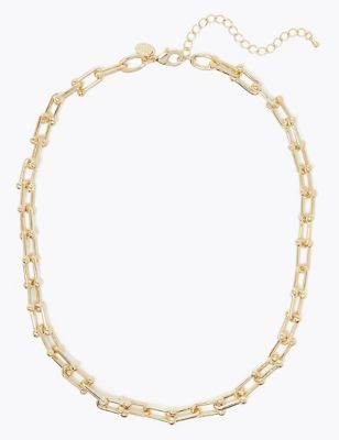 Ball Link Necklace