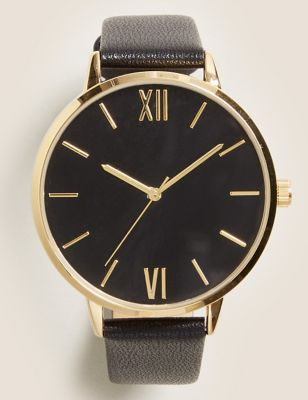 Large Round Face Watch