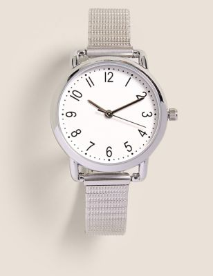 Small Round Face Expandable Watch