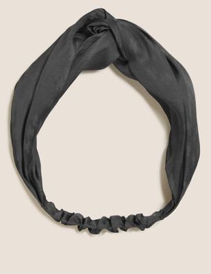 Satin Jacquard Headband