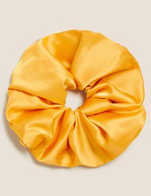 Oversized Satin Scrunchie