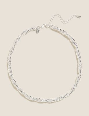 Chunky Twist Chain Necklace