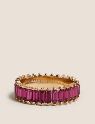 Baguette Sparkle Ring