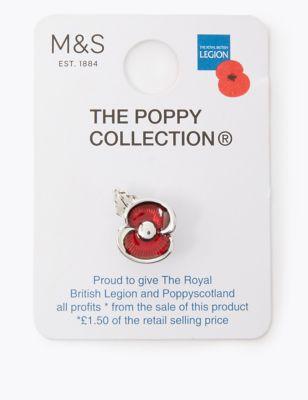 The Poppy Collection® Enamel Poppy Pin