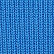 Cotton Cable Knit Crew Neck Jumper - blue