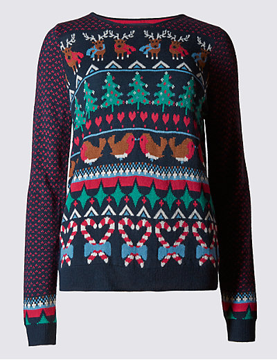 Fair Isle Jumper | M&S