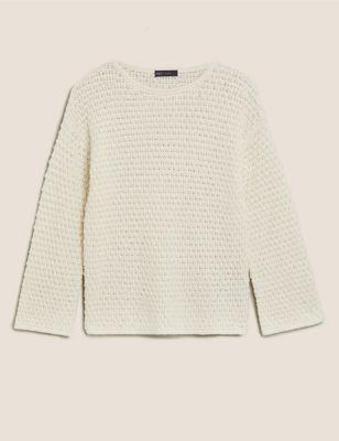 Cotton Textured Jumper