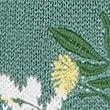 Cotton Rich Floral Print Round Neck Jumper, SOFT GREEN, swatch