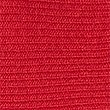 Cotton Blend Ribbed Strap Sleeve Jumper, CRIMSON, swatch