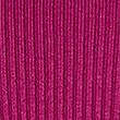 Ribbed Polo Neck Jumper, MAGENTA, swatch