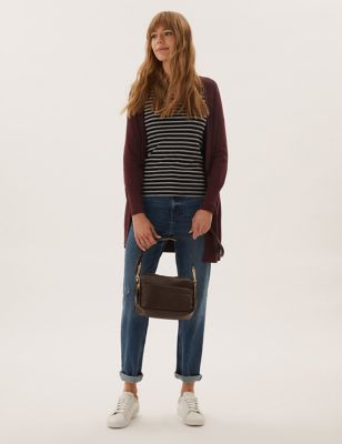 Relaxed Longline Cardigan