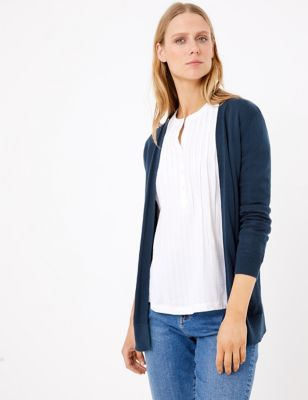 Pure Cotton Relaxed Cardigan