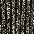 Ribbed Tie Back V-Neck Bubble Sleeve Jumper, BLACK MIX, swatch