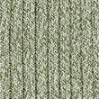 Cotton Ribbed V-Neck Cardigan - onyx