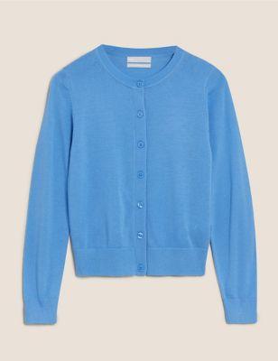 Pure Merino Wool Cardigan