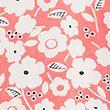 Floral Short Sleeve Top - coralmix