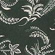 Floral V-Neck Angel Sleeve Shell Top - darkgreenmix