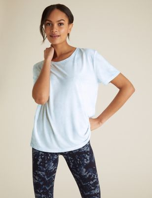 Tie-Dye Crew Neck Relaxed T-Shirt