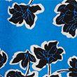Leaf Print Relaxed Angel Sleeve Top - bluemix