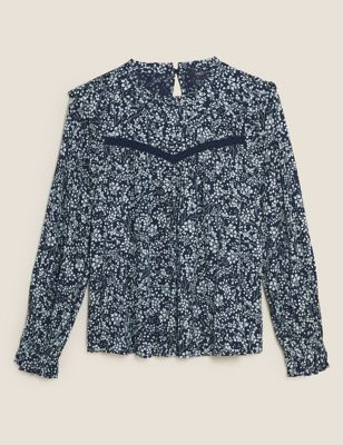 The Floral Blouse