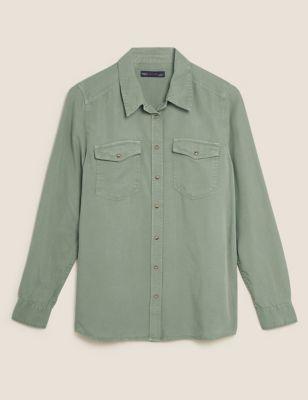 Pure Tencel™ Denim Regular Fit Shirt