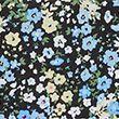 Ditsy Floral Regular Fit Blouse - blackmix