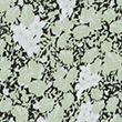 Printed Ruffle V-Neck Blouse - greenmix