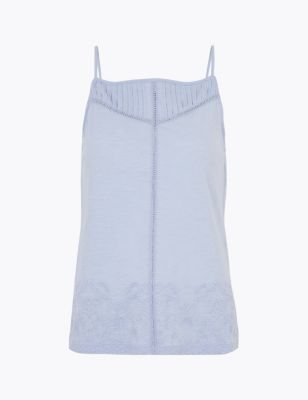 Pure Cotton Sleeveless Camisole Top