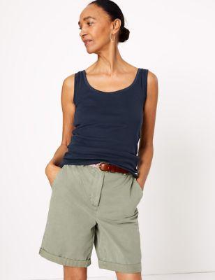 Pure Cotton Regular Fit Vest Top