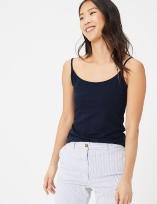 Cotton Fitted Cami Top