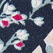 Floral Midi Waisted Dress - blackmix