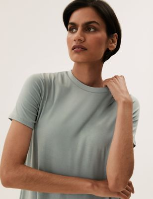 Modal Jersey Midi T-Shirt Dress