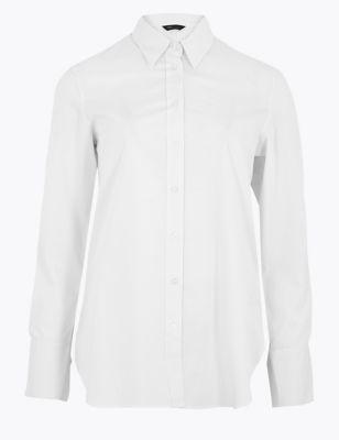 Cotton Regular Fit Long Sleeve Shirt