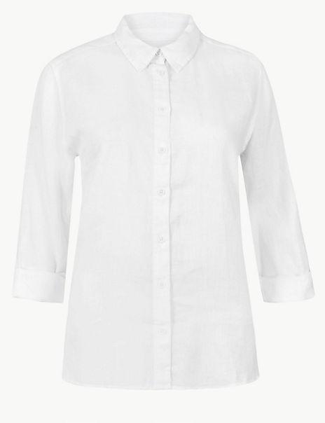 Pure Organic Linen Shirt