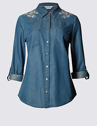 Embroidered Denim, Floral Embroidery, Inspired by Gucci Garden, Embroidered  Jean Jacket, Embroidered