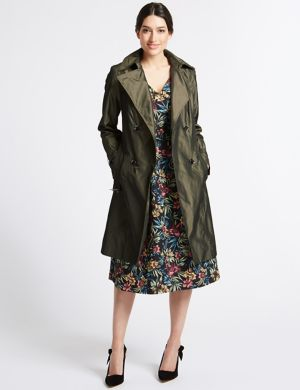 Trench Coat with Stormwear poppy Marks and Spencer