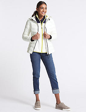 Padded & Quilted Jacket with Stormwear™, WINTER WHITE, catlanding