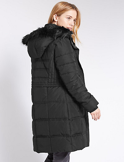 PETITE Padded & Quilted Coat | M&S