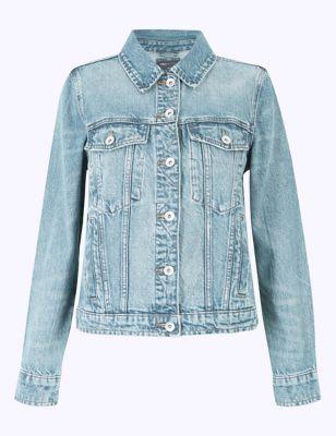 Pure Cotton Denim Jacket