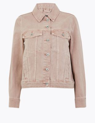 Petite Pure Cotton Denim Jacket