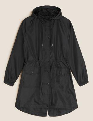 Lightweight Pack Away Parka Jacket