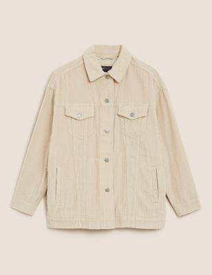 Cord Longline Jacket