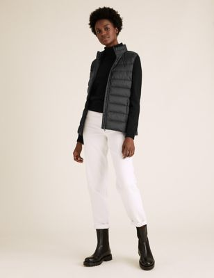 Feather & Down Puffer Gilet