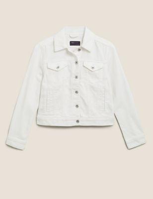 Denim Jacket with Stretch