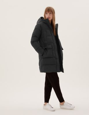 Thermowarmth™ Hooded Puffer Parka Coat