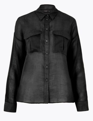 Ramie Long Sleeve Shirt