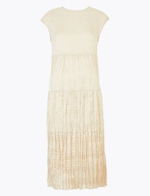 Textured Midi Column Dress